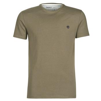 Clothing Men Short-sleeved t-shirts Timberland SS DUNSTAN RIVER CREW TEE Kaki