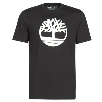 Clothing Men Short-sleeved t-shirts Timberland SS KENNEBEC RIVER BRAND TREE TEE Black