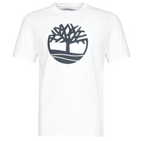 Clothing Men Short-sleeved t-shirts Timberland SS KENNEBEC RIVER BRAND TREE TEE White