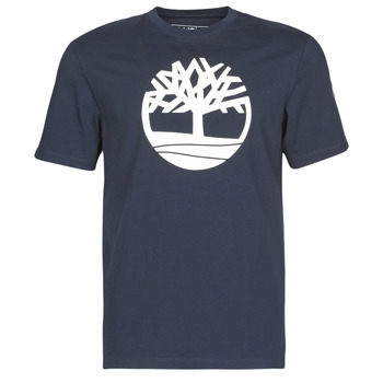 Clothing Men Short-sleeved t-shirts Timberland SS KENNEBEC RIVER BRAND TREE TEE Marine