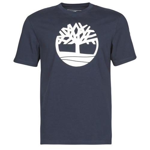 Clothing Men Short-sleeved t-shirts Timberland SS KENNEBEC RIVER BRAND TREE TEE Marine