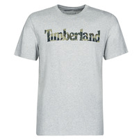 Clothing Men short-sleeved t-shirts Timberland SS KENNEBEC RIVER CAMO LINEAR TEE Grey