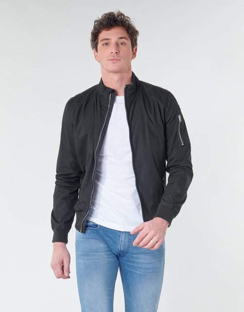 Clothing Men Jackets Schott KENNY Black