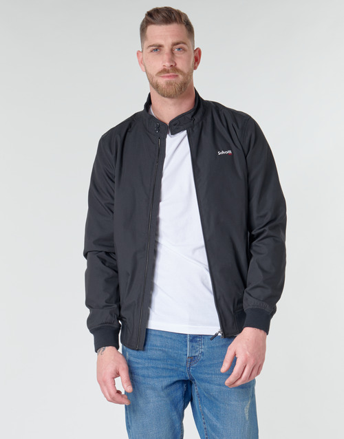 Clothing Men Jackets Schott CABL12 20 Marine