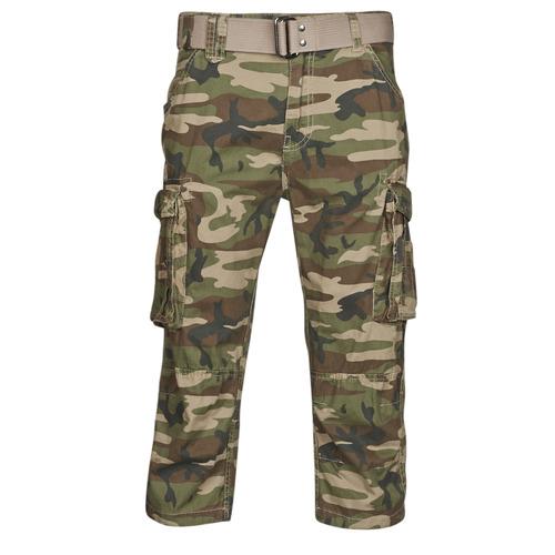 Clothing Men Shorts / Bermudas Schott TR RANGER 50 Kaki