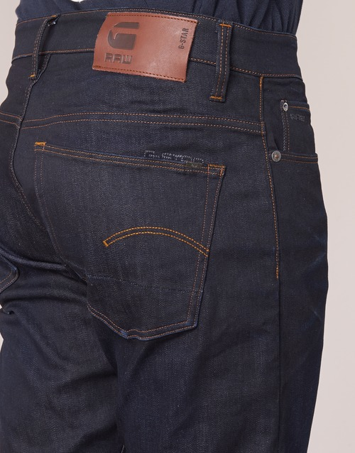 Visor Stretch Dk star Denim Aged Tapered Raw 3301 G ICaqFwU