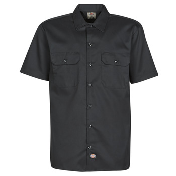 Clothing Men Short-sleeved shirts Dickies SHORT SLEEVE Black