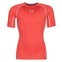 Clothing Men short-sleeved t-shirts Under Armour UA HEATGEAR ARMOUR Red