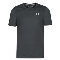 Clothing Men short-sleeved t-shirts Under Armour SEAMLESS Black