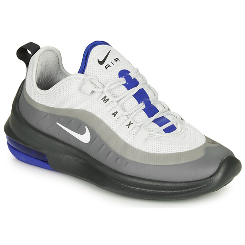 Shoes Men Low top trainers Nike AIR MAX AXIS Grey / Blue
