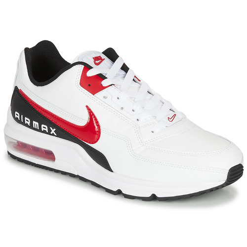 Shoes Men Low top trainers Nike AIR MAX LTD 3 White / Black / Red