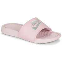 Shoes Women Tap-dancing Nike BENASSI JUST DO IT Pink