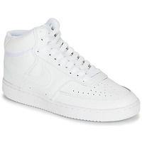 Shoes Women Low top trainers Nike COURT VISION MID White