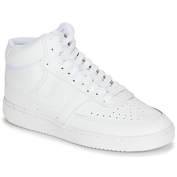 Shoes Women Hi top trainers Nike COURT VISION MID White