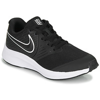 Shoes Children Low top trainers Nike STAR RUNNER 2 GS Black / White
