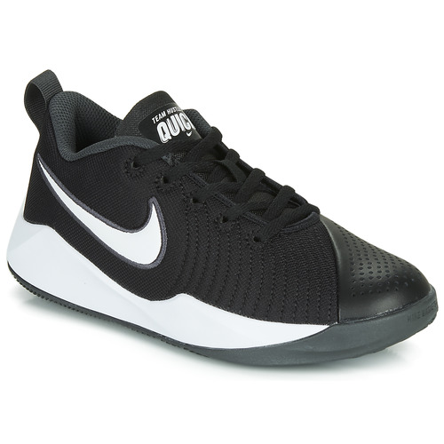 Shoes Children Multisport shoes Nike TEAM HUSTLE QUICK 2 GS Black / White