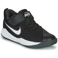 Shoes Children Multisport shoes Nike TEAM HUSTLE QUICK 2 PS Black / White