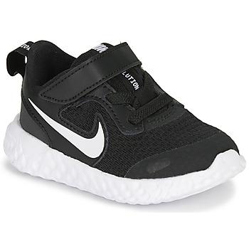 Shoes Children Multisport shoes Nike REVOLUTION 5 TD Black / White