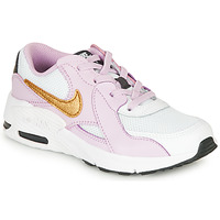 Shoes Girl Low top trainers Nike AIR MAX EXCEE PS Black / Pink