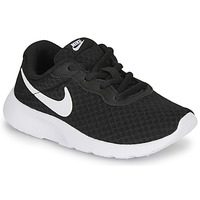 Shoes Children Low top trainers Nike TANJUN PS Black / White