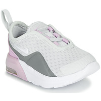 Shoes Girl Low top trainers Nike AIR MAX MOTION 2 TD White / Pink
