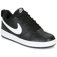 Shoes Children Low top trainers Nike COURT BOROUGH LOW 2 GS Black / White