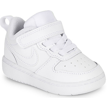 Shoes Children Low top trainers Nike COURT BOROUGH LOW 2 TD White