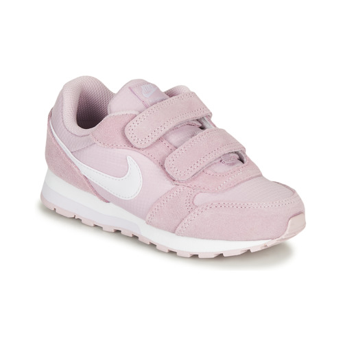 Shoes Girl Low top trainers Nike MD RUNNER 2 PE PS Pink