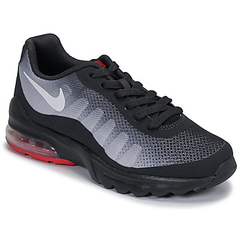 Shoes Children Low top trainers Nike AIR MAX INVIGOR GS Black / Red