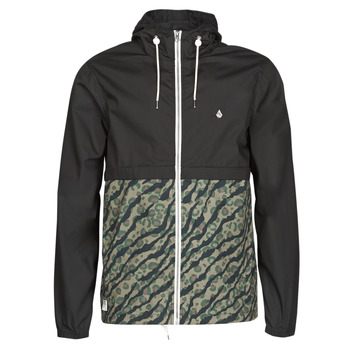 Clothing Men Macs Volcom HOWARD HOODED Black