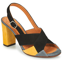 Shoes Women Sandals Chie Mihara BENITA Black / Grey / Yellow