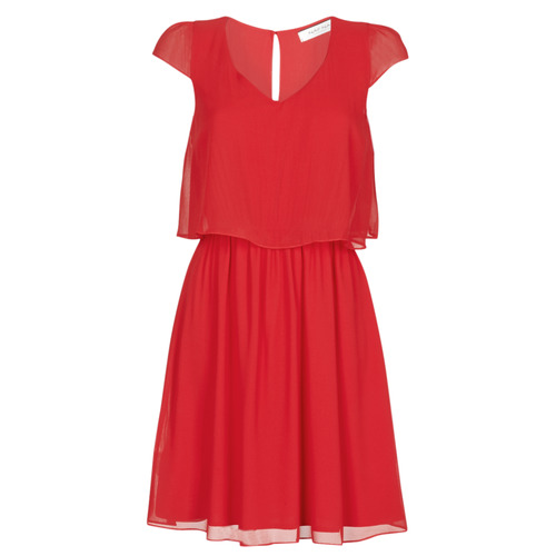 Clothing Women Short Dresses Naf Naf NEW JOEY Red
