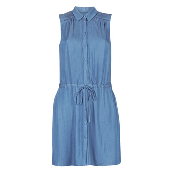 Clothing Women Short Dresses Naf Naf LEASY R1 Blue