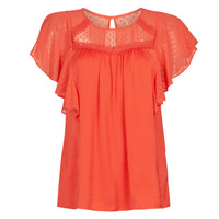 Clothing Women Tops / Blouses Naf Naf LAGARDEN C1 Red