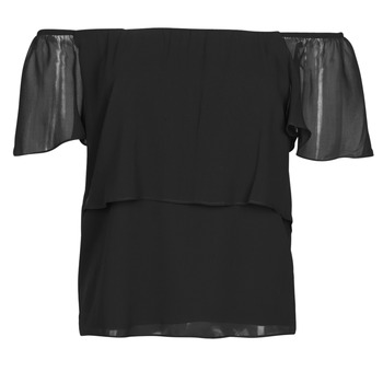 Clothing Women Tops / Blouses Naf Naf LINDA C1 Black