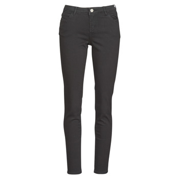 Clothing Women 5-pocket trousers Morgan PETRA Black