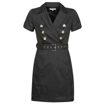 Clothing Women Short Dresses Morgan RIVIA Black