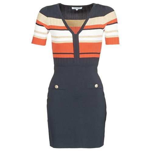 Clothing Women Short Dresses Morgan RMDORA Marine
