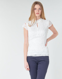 Clothing Women Tops / Blouses Morgan DNEMA White