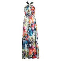 Clothing Women Long Dresses Marciano SUPERBLOOM GOWN Multicolour