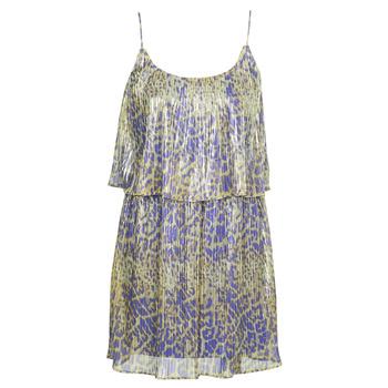 Clothing Women Short Dresses Marciano LIQUID LEOPARD DRESS Multicolour