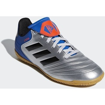 Shoes Boy Football shoes adidas Originals Copa Tango 184 IN J Blue, Silver, Light blue