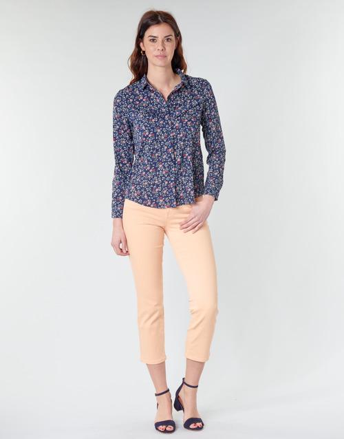 Clothing Women 5-pocket trousers Freeman T.Porter LOREEN NEW MAGIC COLOR Pink
