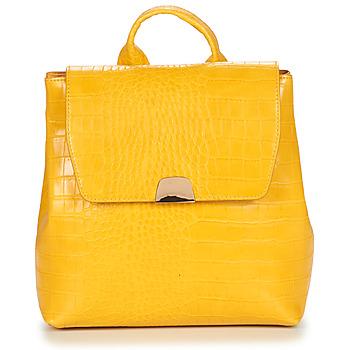 Bags Women Rucksacks André OLYMPE Yellow