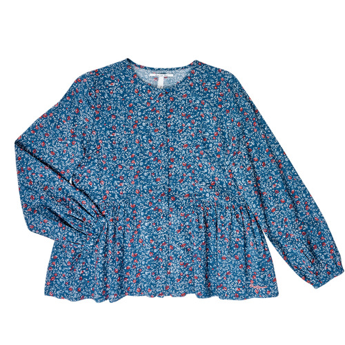 Clothing Girl Tops / Blouses Pepe jeans ISA Blue