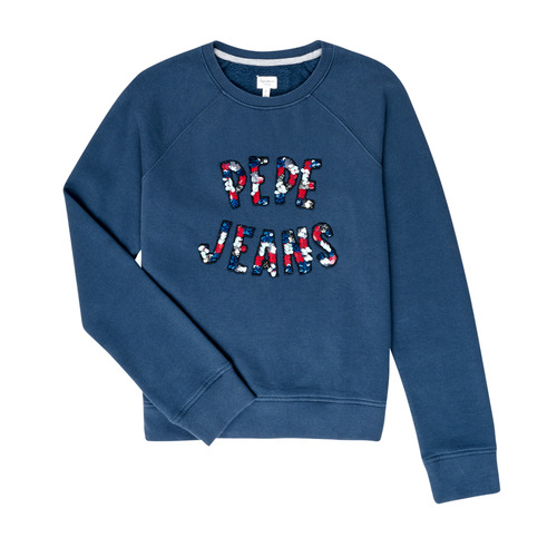 Clothing Girl sweaters Pepe jeans DARCY 1 Marine