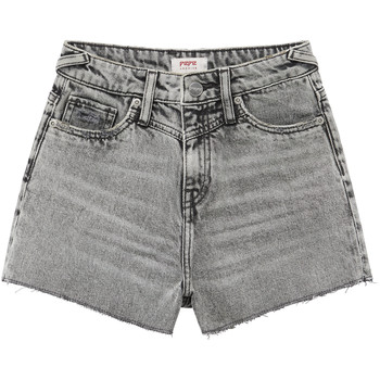 Clothing Girl Shorts / Bermudas Pepe jeans ROXIE Grey
