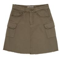 Clothing Girl Skirts Pepe jeans LUCIANA Kaki