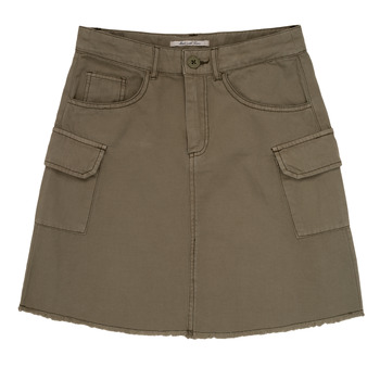 Clothing Girl Skirts Pepe jeans LUCIANA Kaki