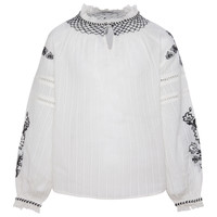 Clothing Girl Tops / Blouses Pepe jeans RONIE White